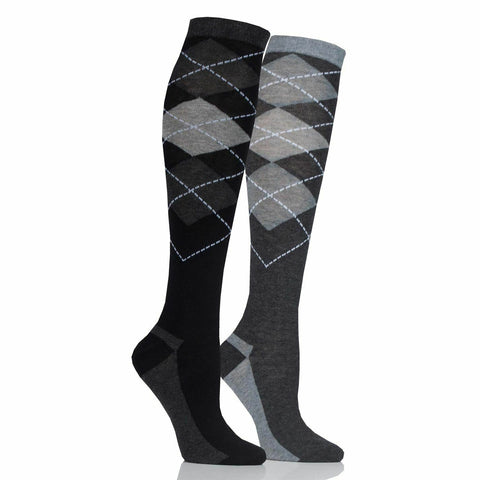 StormBloc Argyle Twin Pack Socks