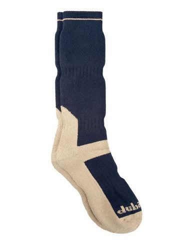 Navy Dubarry Long Tech Socks