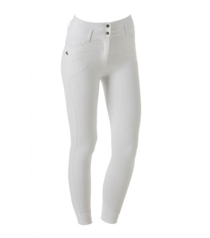 Charlotte Breeches In White - Front