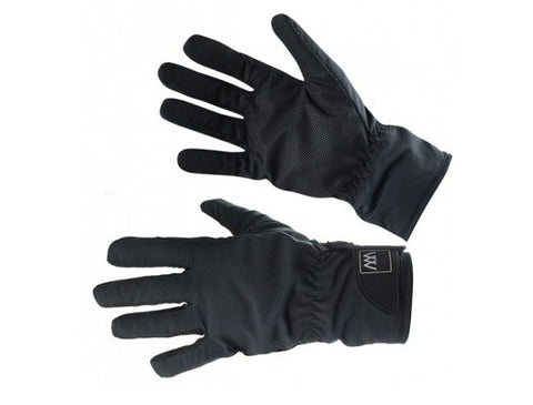 Black Woof Wear Waterproof Riding Glove
