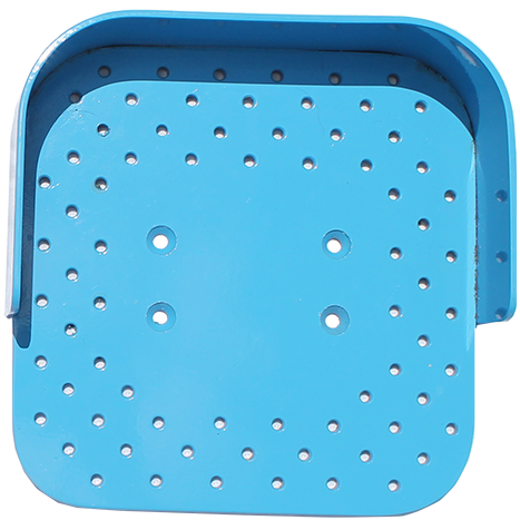 Large Toe Jammer Foot Plate 12 x 10
