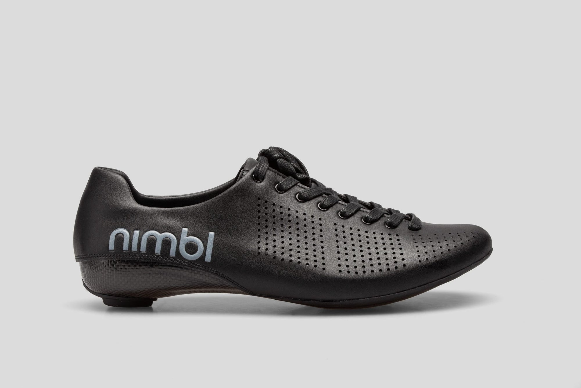 Nimbl AIR Premium Cycling Road Shoes - Black | CYCLISM