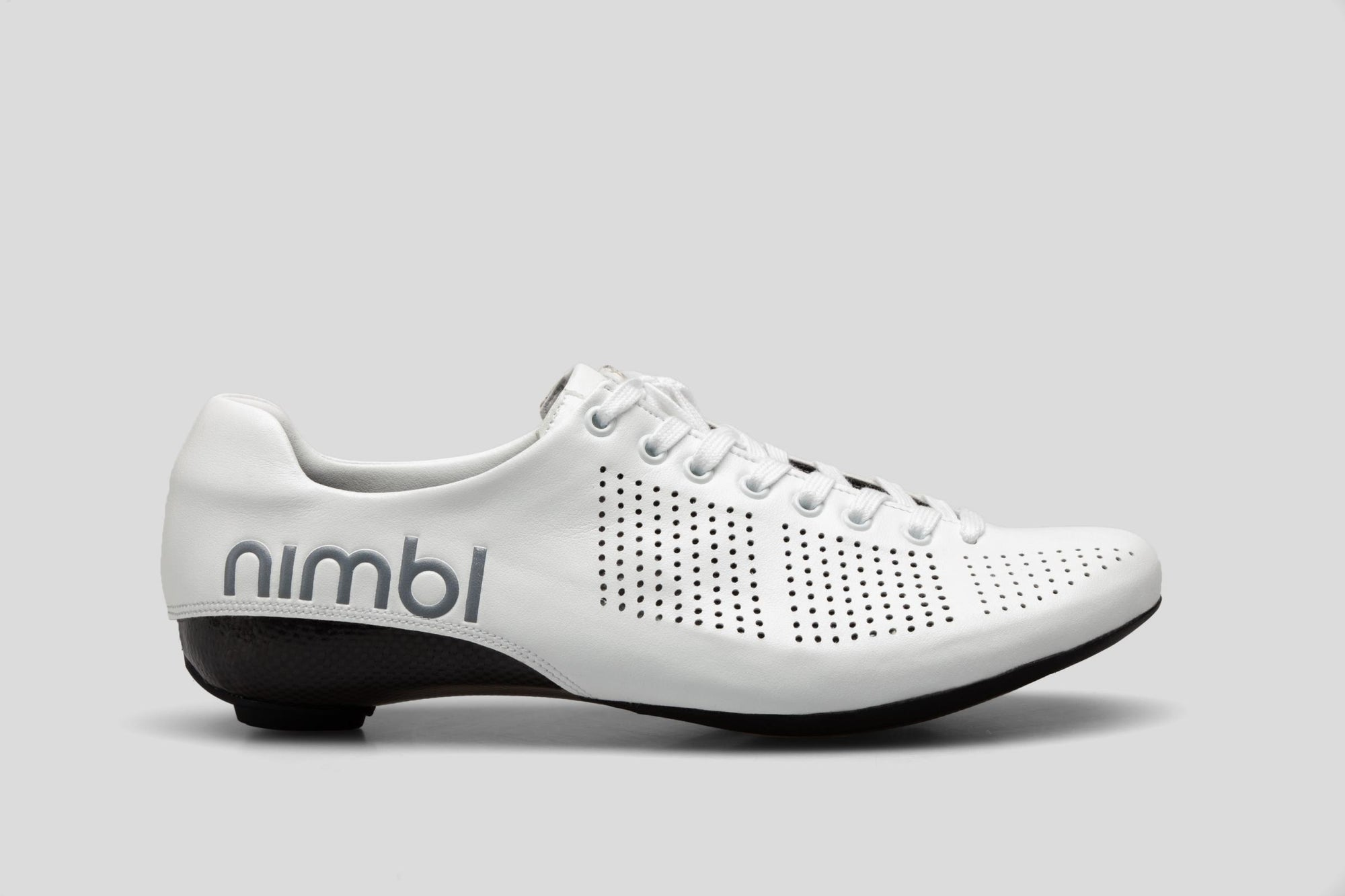 Nimbl AIR Premium Cycling Road Shoes - White | CYCLISM