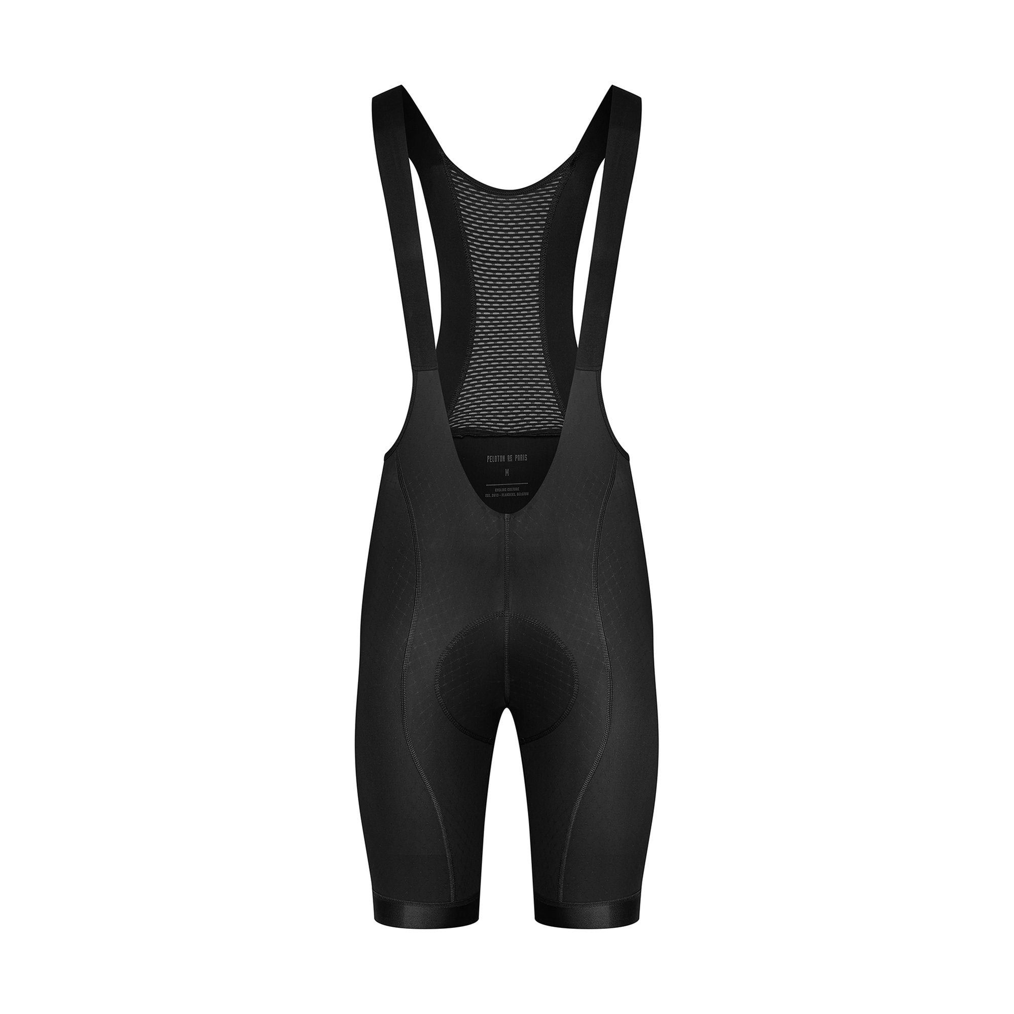Peloton de Paris Sprinteur Black Bib Men | CYCLISM