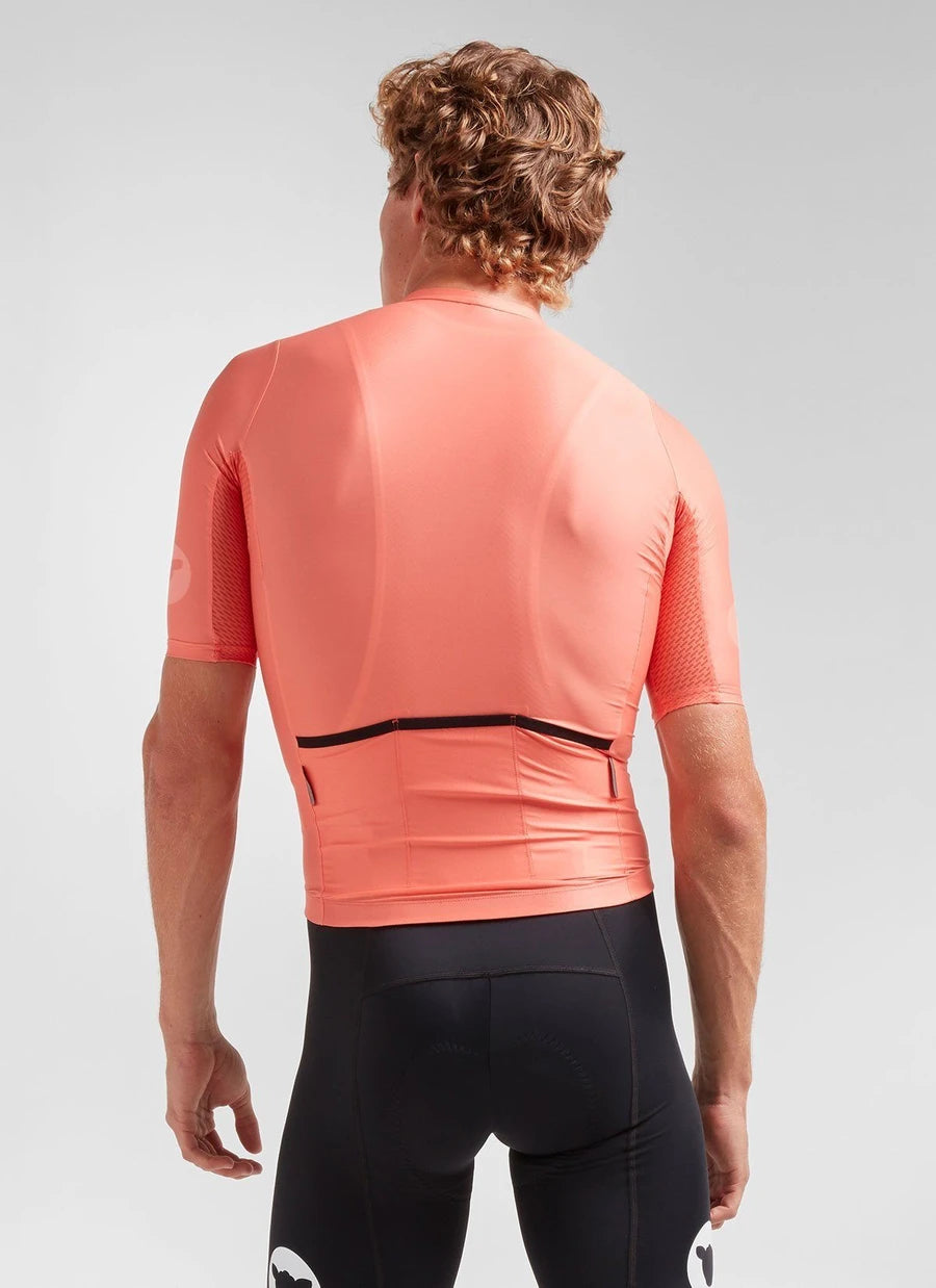Black Sheep Cycling Men's Essentials TEAM Jersey - Coral | CYCLISM