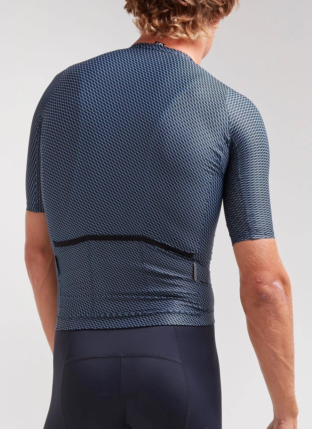 Black Sheep Cycling Men's Essentials TEAM Jersey - Navy Hatch | CYCLISM