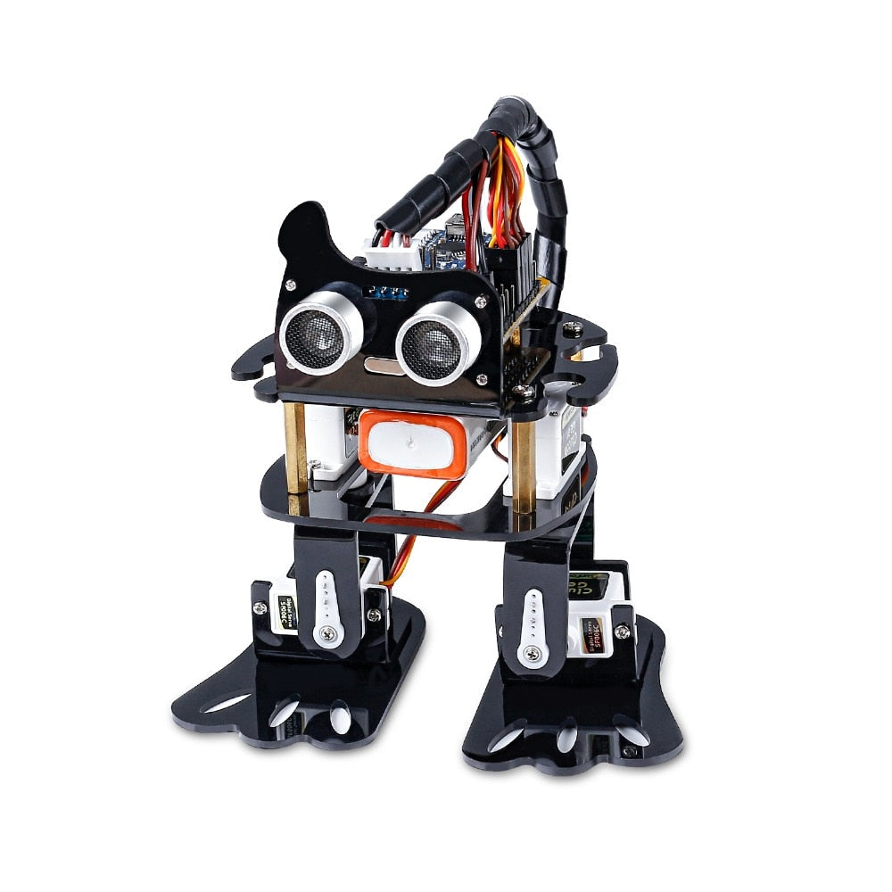 DIY 4-DOF Robot Kit- Sloth Learning Kit Programmable Dancing Robot Kit For Electronic Toy