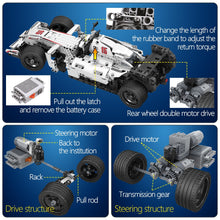 Load image into Gallery viewer, 729pcs City F1 Racing Car Remote Control Technic RC Car Electric truck Building Blocks bricks Toys For Children gifts