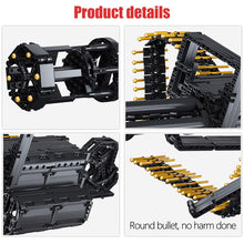 Load image into Gallery viewer, 1422Pcs Technic City Gatling Guns Emission Model Building Blocks Military Army WW2 Weapon Bricks Toys for Boys Gifts