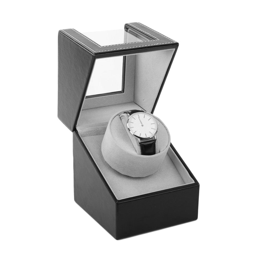 EU/US/AU/UK Plug Single Display Automatic Watch Winder