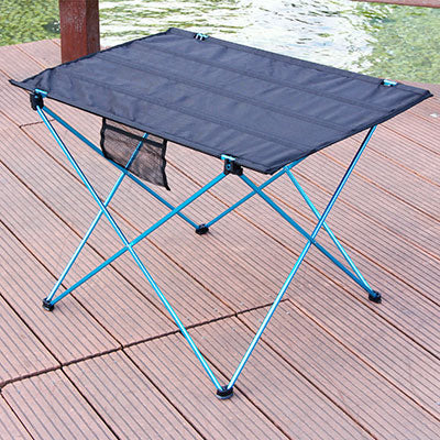 Portable Foldable Table Camping Outdoor Furniture Computer Bed Tables Picnic 6061 Aluminium Alloy Ultra Light Folding Desk