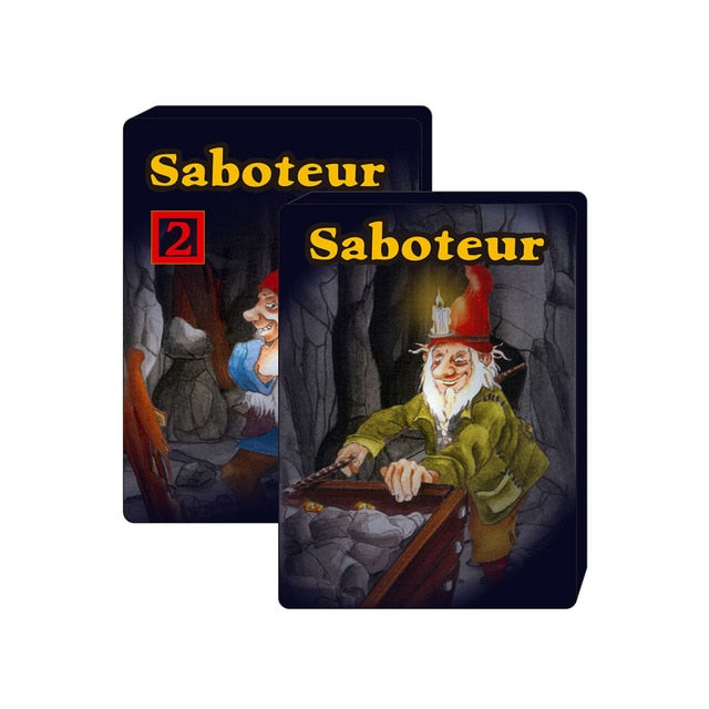2020 Saboteur 1 & saboteur 1+2 card game full English