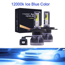 Load image into Gallery viewer, Muxall 2PCS LED 12000LM/PAIR Mini Car Headlight Bulbs H1 H7 H8 H9 H11 Headlamps Kit 9005 HB3 9006 HB4 Auto Lamps 4300K 8000K