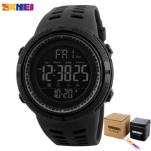 Load image into Gallery viewer, Fashion Outdoor Sport Watch Men Multifunction Watches Alarm Clock Chrono 5Bar Waterproof Digital Watch