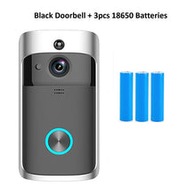 Load image into Gallery viewer, Wsdcam Smart Doorbell Camera Wifi Wireless Call Intercom Video-Eye for Apartments Door Bell Ring for Phone Home Security Cameras