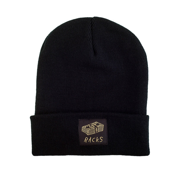 Blessed Black RACKS Beanie