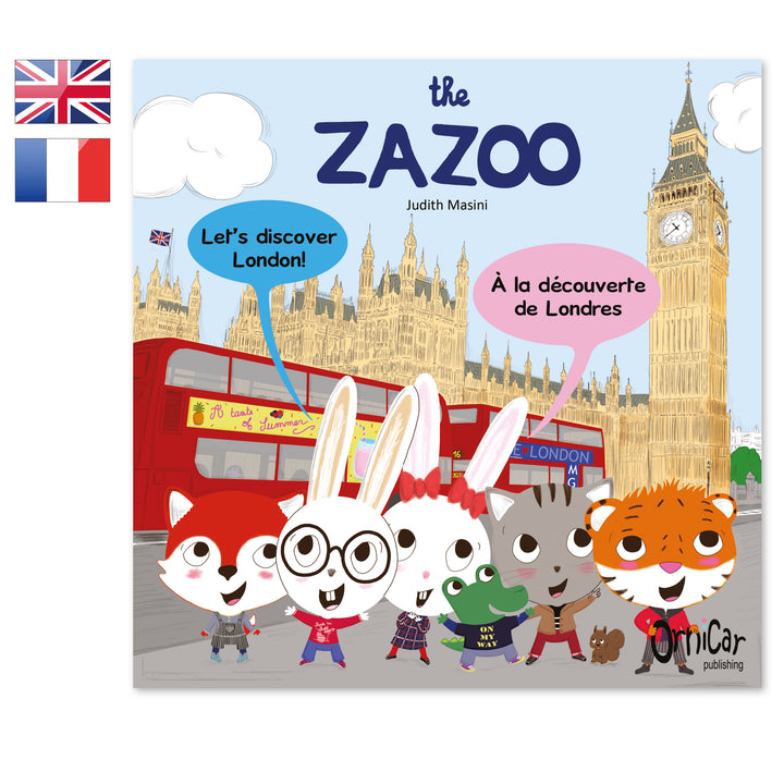 the Zazoo livre bilingue anglais français London