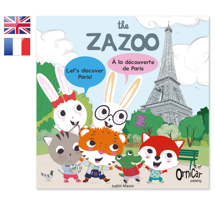 the Zazoo livre bilingue anglais français Paris