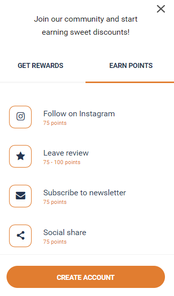 New Rewards Points Program means discounts for you!