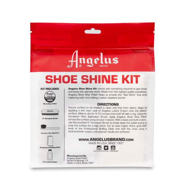 Angelus Shoe Shine Travel Kit