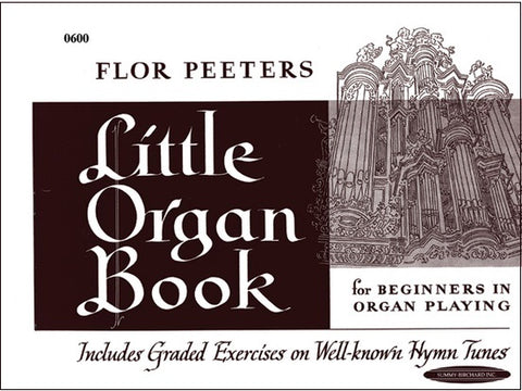 Little Organ Book by Flor Peeters