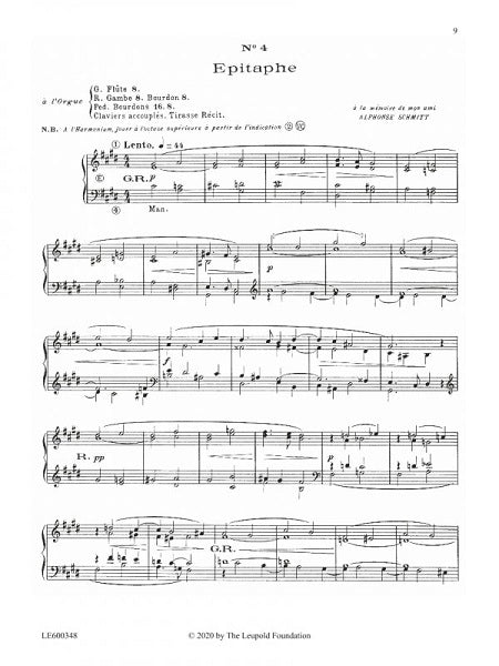 Louis Vierne: 24 Pieces in Free Style, Op. 31, Bk. 1
