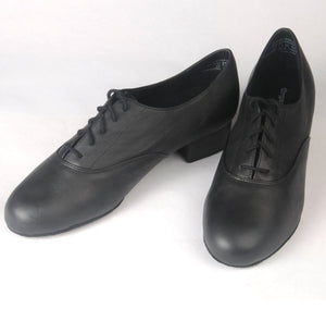 Oxford Lace-up (Black, Leather) Men's