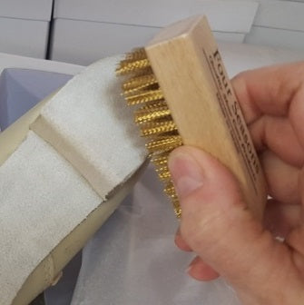 Suede Sole Brush