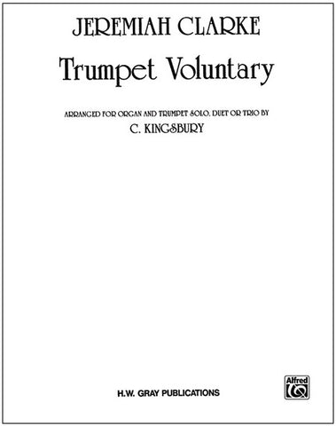 Trumpet Voluntary for Organ and 1-3 Trumpets