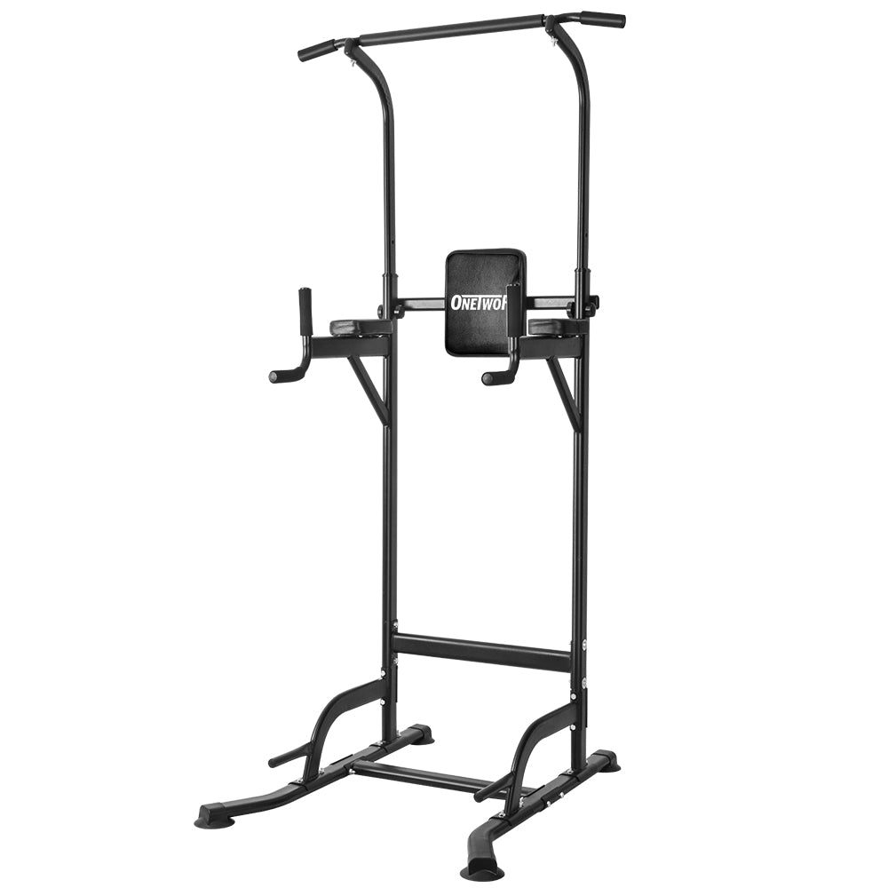 OneTwoFit Multi-Function Power Tower Dip Stands Pull up Bar OT084