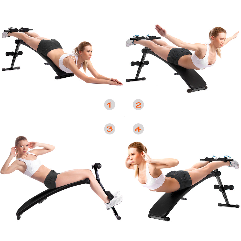 OneTwoFit Foldable Sit-up Bench OT085