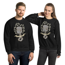 Load image into Gallery viewer, Torque Torch Unisex Sweatshirt Flaming Piston