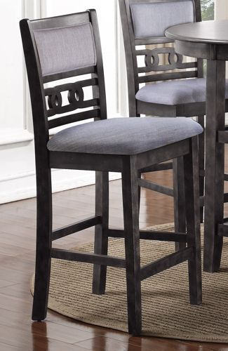 Gia Counter Chairs (2/ctn) - Gray