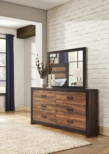 Dewcrest Collection - Dewcrest Rectangle Mirror Caramel And Licorice