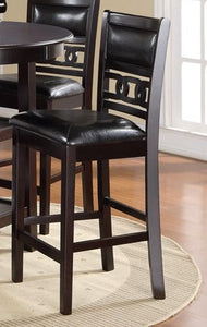 Gia Counter Chairs (2/ctn) - Ebony