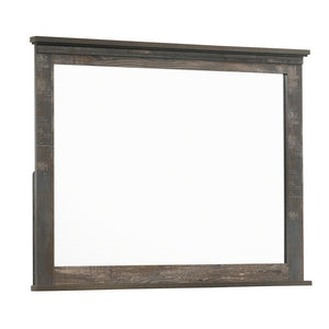 Ridgedale Collection - Ridgedale Dresser Mirror Weathered Dark Brown