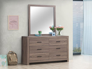 Brantford Collection - Brantford Rectangle Dresser Mirror Barrel Oak