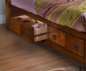 Sheridan 6/6 Ek Storage Rail And Slat Kit - Burnished Cherry