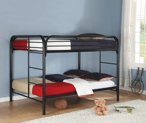 Morgan Bunk Bed - Morgan Full Over Full Bunk Bed Black