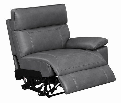 Albany Motion Collection - Grey - Raf Power2 Recliner