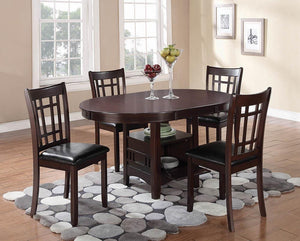 Lavon Collection - Lavon Dining Table With Storage Espresso