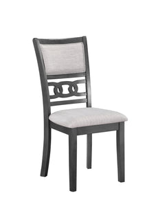 Gia Dining Chairs (2/ctn) - Gray