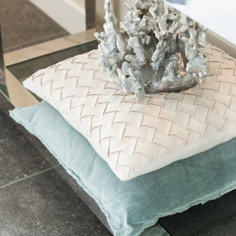 JUTLAND | CUSHION | AQUA