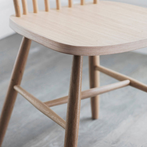 SPINDLE DINING CHAIR | OAK | PAIR