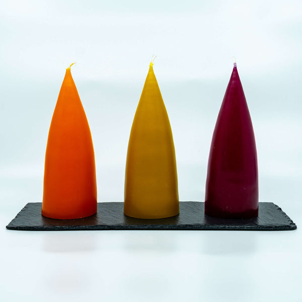DANISH | PYRAMID CANDLE