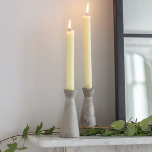 WALCOT | CONCRETE CANDLE HOLDERS | TALL