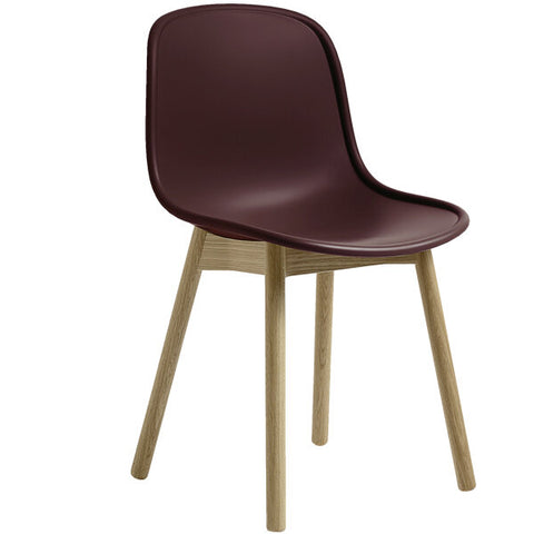 DANISH CHAIR | OAK | CLARET