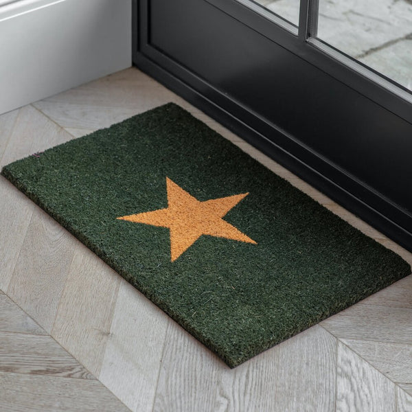 WALCOT DOORMAT | FOREST GREEN | 2 SIZES