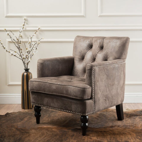 MIDFORD | READING CHAIR | WARM GREY