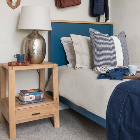 ENGLISH | SINGLE BED | PADSTOW BLUE